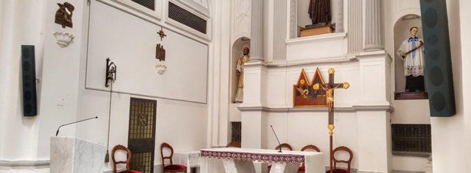 Riti della Settimana Santa annullati: a Santa Chiara chiesa senza sepolcro e confratelli in lacrime