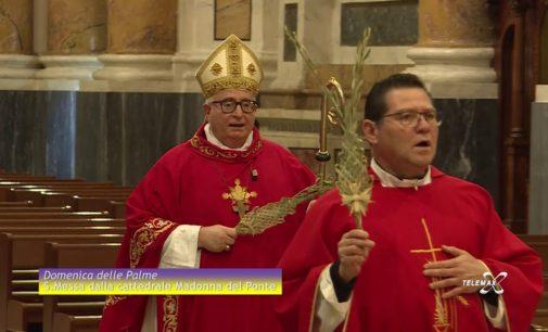 Dalla cattedrale di Lanciano la Santa Messa della Domenica delle Palme