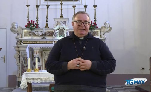 L'arcivescovo Cipollone introduce la S.Messa della terza domenica di Pasqua
