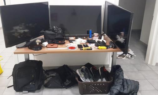 Furti nelle abitazioni, tre arresti a Francavilla al mare
