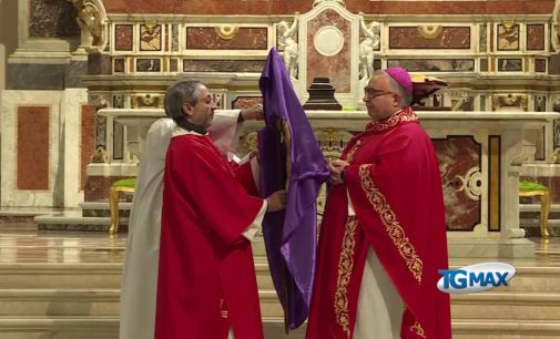 Pasqua, l'Arcivescovo Cipollone benedice la città di Lanciano