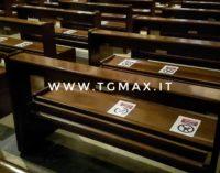 Lanciano: la Santa Messa in cattedrale con 123 posti a sedere