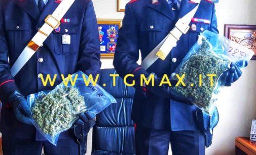 Altino: domiciliari al 24enne arrestato in flagranza con mezzo kg di marijuana, era la scorta per l'estate