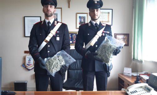 Droga: arrestato 24enne di Altino, aveva mezzo kg di marijuana in auto