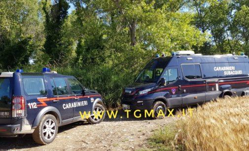 Droga: i sommozzatori dei carabinieri trovano il fucile della gang nel fiume Sangro, a Paglieta