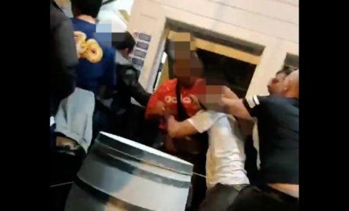 Lite e botte al bar: il video diventa virale, proseguono le indagini dei carabinieri