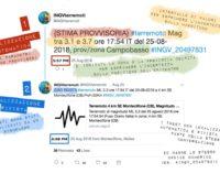 Terremoto di magnitudo 3,5 a Montecilfone