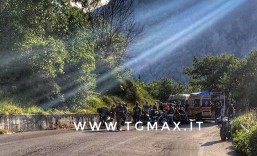 Scontro tra auto e moto, incidente stradale tra Casoli e Fara San Martino