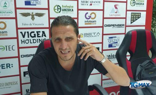 Lanciano: delirio rossonero alla conferenza stampa del direttore tecnico Di Gennaro
