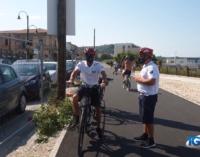 San Vito Chietino: polizia municipale in bicicletta lungo la Via Verde e parcheggi nella vecchia stazione