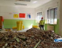 Lanciano: lavori di edilizia leggera per la riapertura delle scuole