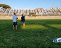 Feste di Settembre: sopralluogo tecnico allo stadio Biondi per i concerti di Molinari e Silvestri