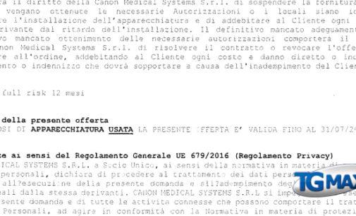 Ospedale: Pupillo mostra la delibera Asl, in arrivo una Tac usata per il Renzetti