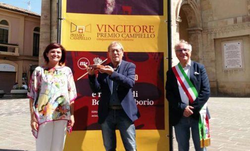 Lanciano accoglie il vincitore del Premio Campiello 2020, Remo Rapino: ho scritto un libro d'amore