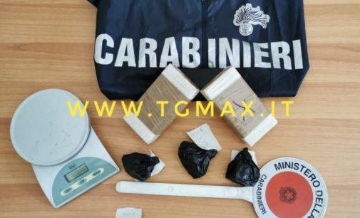 Lanciano: arrestati madre e figlio, avevano 1,5 kg di droga
