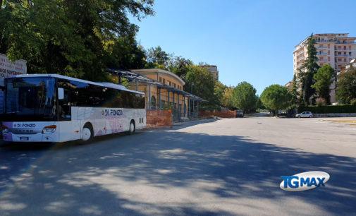 Lanciano, apre il cantiere del terminal bus Memmo