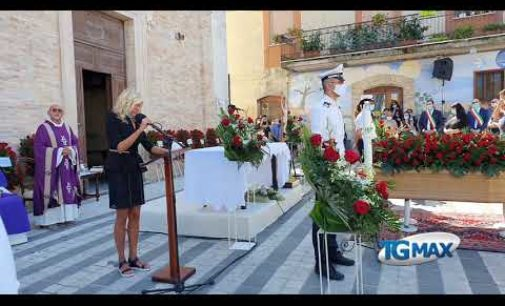 Treglio: sei stato l'amore della mia vita, la lettera di addio della moglie Katia a Fabio Pasquini