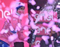 Giro d'Italia: a Roccaraso trionfa Guerreiro, Almeida in rosa