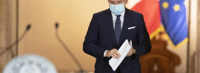 Dpcm: stress sul sistema sanitario, è mini lockdown fino al 24 novembre