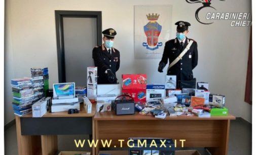 Chieti: commesso infedele sorpreso con 100 mila euro di refurtiva in casa, arrestato