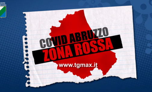 Coronavirus: la cabina di regia del governo mette l'Abruzzo in zona rossa