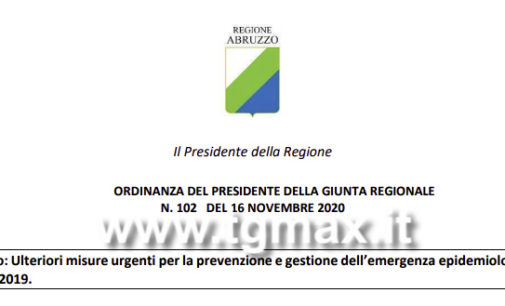 Abruzzo verso la zona rossa da mercoledì: scuole aperte come da Dpcm, attesa l'ordinanza in serata ma circolano fake