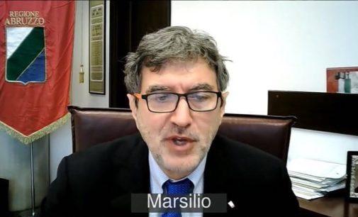 """Abruzzo è in zona arancione: il presidente Marsilio, """"non sono un irresponsabile"""""""