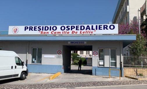 Focolaio Covid all'ospedale di Atessa: postivi 11 pazienti della Riabilitazione e 6 operatori sanitari, ricoveri sospesi