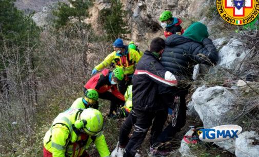 Escursione in montagna Roccamorice durante la zona rossa: ricoverata in rianimazione, sarà sanzionata