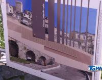 Casoli: lavori per il muraglione della memoria