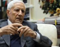 Covid: Franco Marini ricoverato al San Camillo di Rieti, è in respirazione assistita