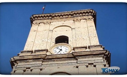 Lanciano: eseguiti i lavori all'orologio della Torre civica, ancora ferme le lancette