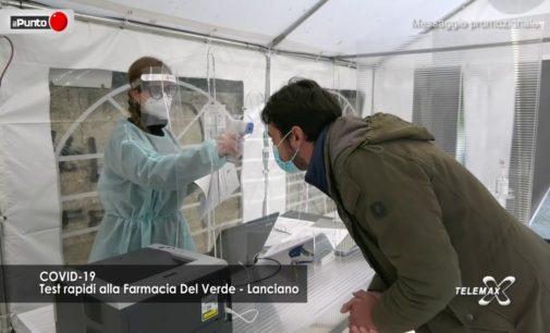Lanciano: Covid19, test rapidi alla farmacia Del Verde