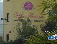 Focolaio a Villa Aurora: 39 anziani positivi, mancano Oss e un infermiere
