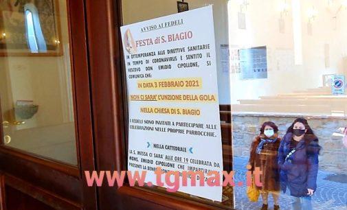 Lanciano: il Covid annulla il rito di San Biagio