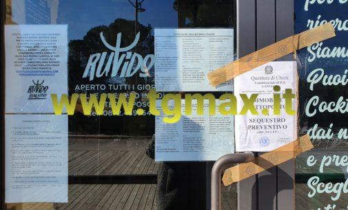 Lanciano: il gip chiude Ruvido e sequestra il ristorante, denunciato il titolare