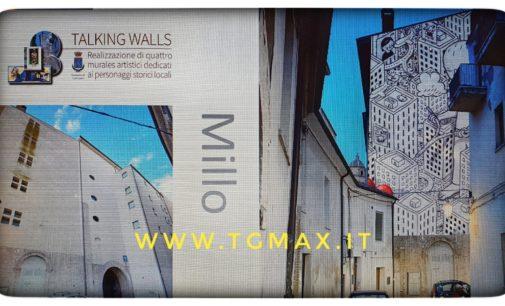 Lanciano: al via il progetto Muri parlanti, murales sul teatro Fenaroli e tre scuole