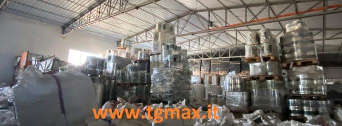 Paglieta: sequestrato un capannone per stoccaggio illecito di rifiuto plastico