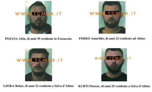 Lanciano: sparatoria tra gruppi albanesi, 4 arresti per tentato omicidio