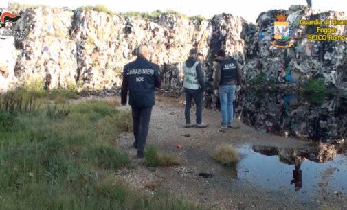 Da Puglia e Campania stoccavano rifiuti in un capannone della zona industriale di Vasto, arrestati