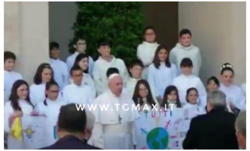 Altino: 24 bambini in udienza da Papa Francesco in Vaticano