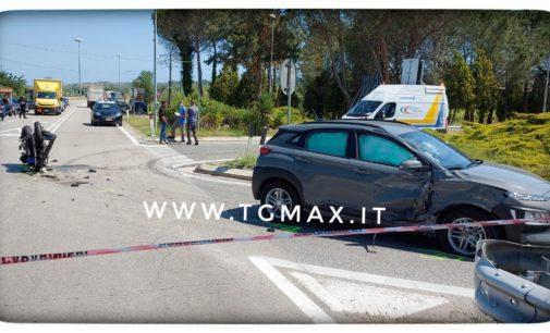 Casalbordino: incidente sulla strada provinciale, deceduto motociclista