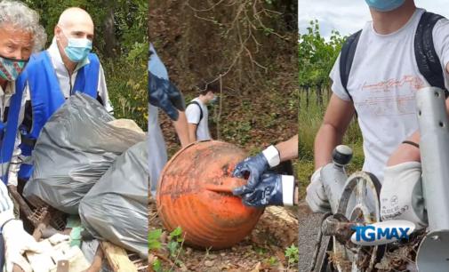 Costa dei trabocchi: volontari ripuliscono la Pinetina di Vallevò