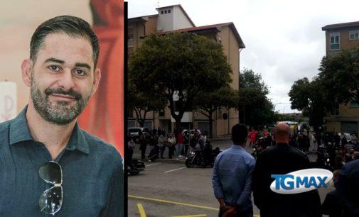 Lanciano: motociclette e palloncini per l'ultimo saluto a Mauro Picca
