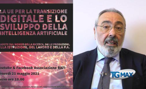 Webinar: l'Ue per la transizione digitale e lo sviluppo dell'intelligenza artificiale