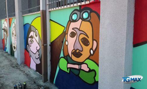 Lanciano: ecco i murales al Liceo Palizzi, opera degli studenti