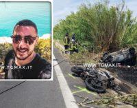 Fossacesia: auto e moto si scontrano in fase di sorpasso, muore centauro