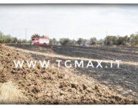 Lanciano: fiamme tra Villa Andreoli e Marcianese, incendio domato