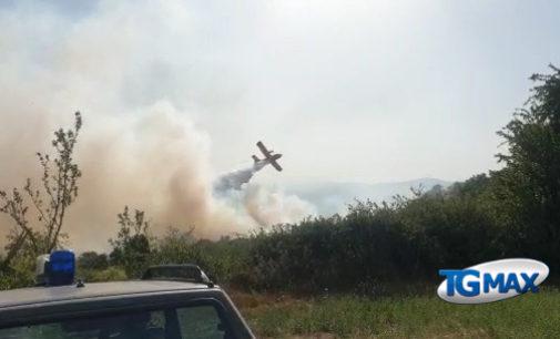 Pizzoferrato: domato l'incendio che ha bruciato ettari di terreno in quattro giorni