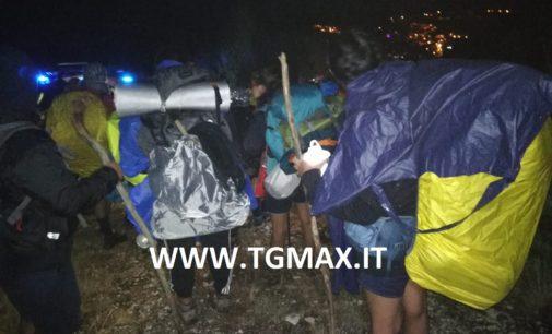 Palena: 14 scout di Bari perdono l'orientamento in montagna, soccorsi e portati in salvo